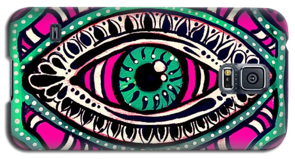 Pink Eyed Gypsi Galaxy S5 Case