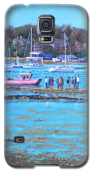 Pink Ferry On The River Hamble Galaxy S5 Case