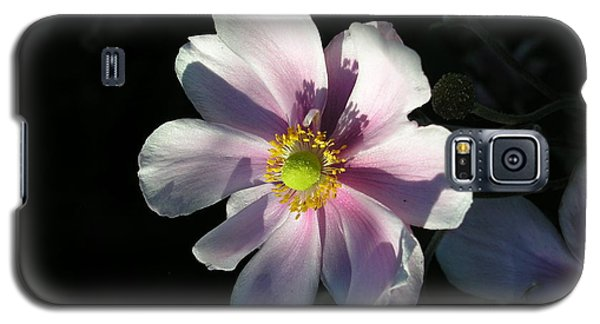 Galaxy S5 Case featuring the photograph Pink Flower by Bev Conover