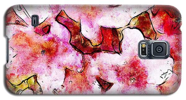 Pink Flowers 2 Galaxy S5 Case by Greg Collins