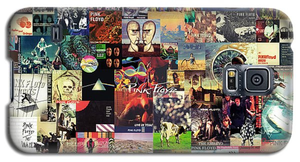 Rock And Roll Galaxy S5 Case - Pink Floyd Collage II by Zapista