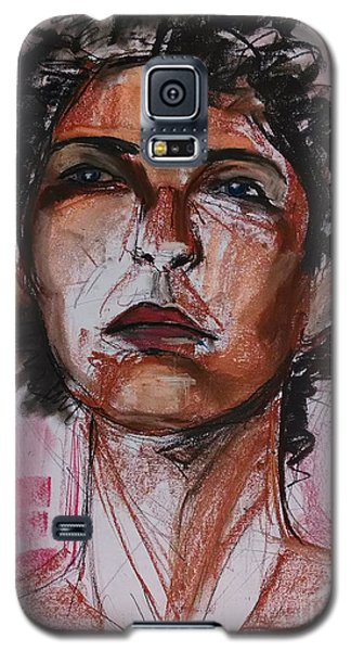 Pink  Galaxy S5 Case by Gabrielle Wilson-Sealy