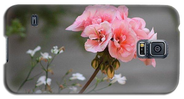 Pink Geranium Galaxy S5 Case