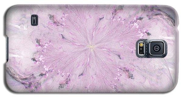 Pink Hibiscus Galaxy S5 Case by Victoria Harrington