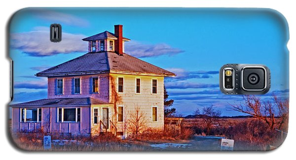 Pink House 002 Galaxy S5 Case