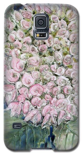 Pink Hydrangea Galaxy S5 Case