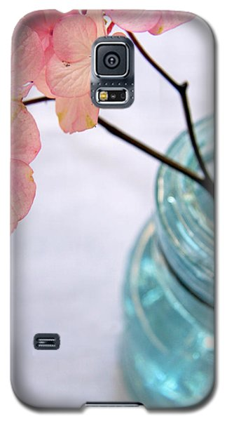 Galaxy S5 Case featuring the photograph Pink Hydrangea No. 1 by Brooke T Ryan