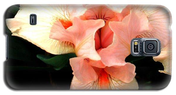 Pink Iris Galaxy S5 Case