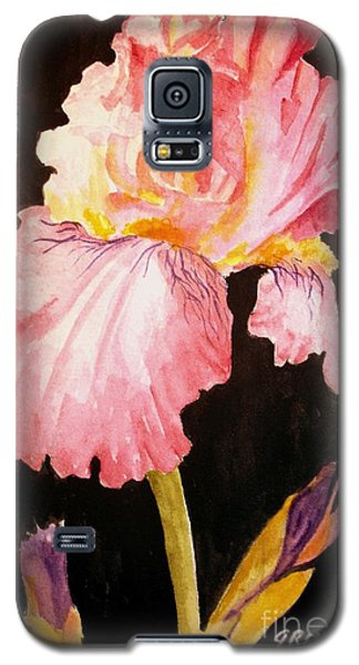 Pink Iris Galaxy S5 Case by Carol Grimes