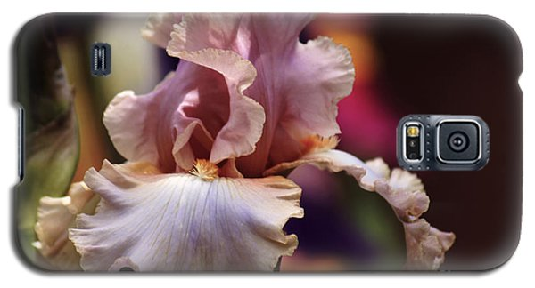 Pink Iris Flower Galaxy S5 Case