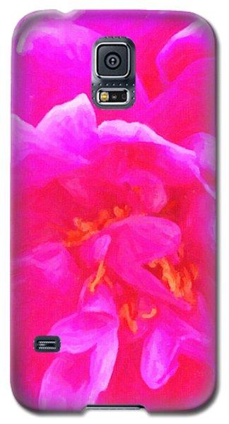 Pink Joy Galaxy S5 Case by Ann Tracy