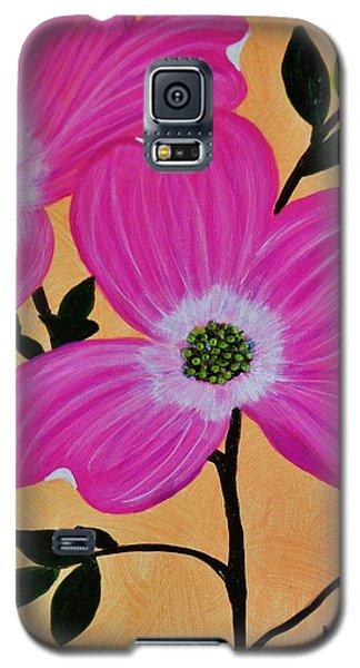 Pink Ladies Galaxy S5 Case by Celeste Manning