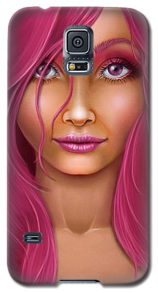 Pink Lady Galaxy S5 Case