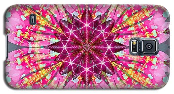 Pink Lightning Galaxy S5 Case