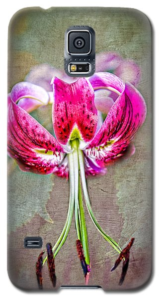 Galaxy S5 Case featuring the photograph Pink Lilly by Mary Timman