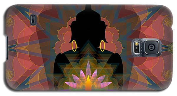 Pink Lotus Buddha Galaxy S5 Case