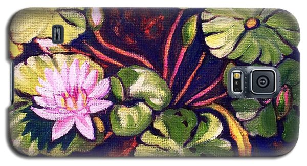Pink Lotus Flower Galaxy S5 Case