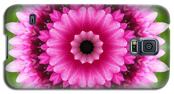 Galaxy S5 Case featuring the photograph Pink Lotus Kaleidoscope by Betty Denise