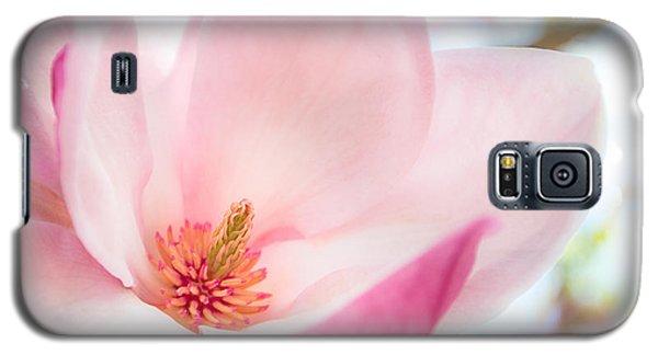 Pink Magnolia Galaxy S5 Case