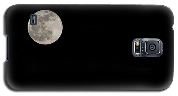 Pink Moon Galaxy S5 Case by Nance Larson