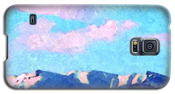 Blue Mountains Galaxy S5 Case by Ze  Di