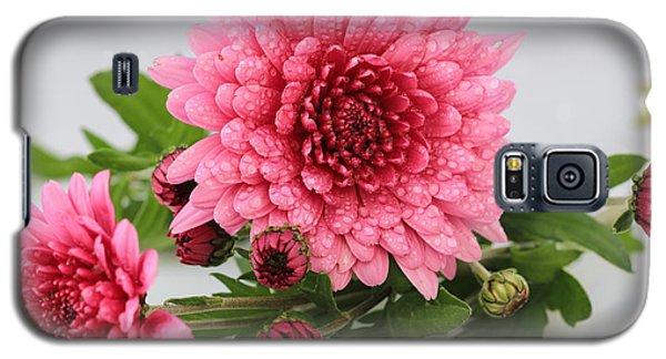 Pink Mums Galaxy S5 Case by Rachel Cohen