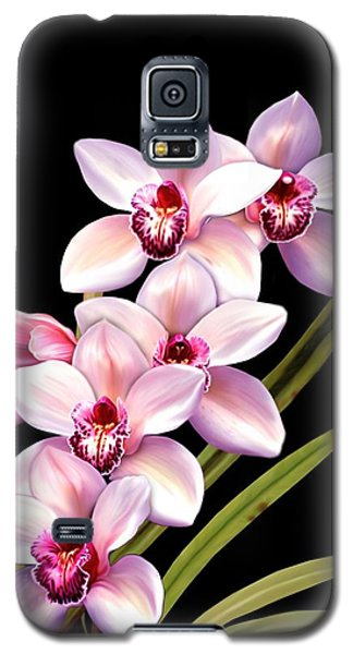 Pink Orchids Galaxy S5 Case
