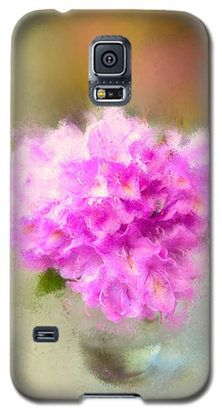 Pink Painted Rhododendrom Galaxy S5 Case