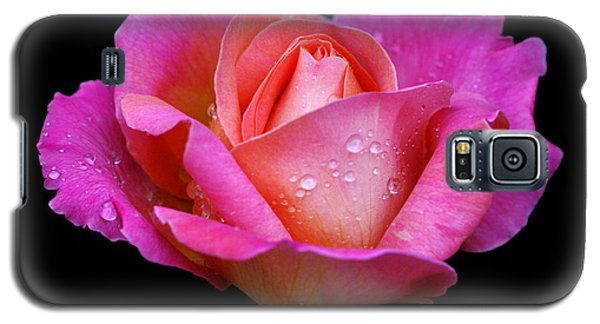 Galaxy S5 Case featuring the photograph Pink Pearl by Doug Norkum