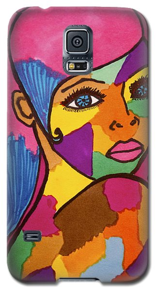 Pink Penny Galaxy S5 Case