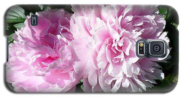 Pink Peonies 3 Galaxy S5 Case