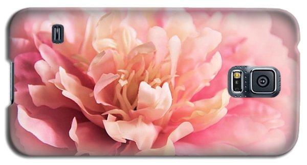Pink Peony Galaxy S5 Case by Elizabeth Budd
