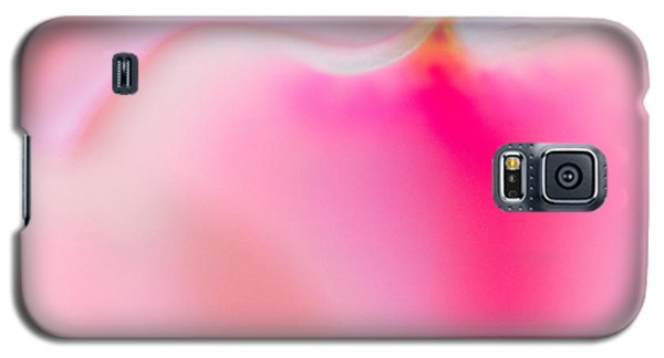 Pink Petal Galaxy S5 Case by Joan Herwig