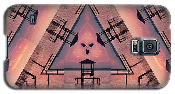 Pink Pier Kaleidoscope Two  Galaxy S5 Case