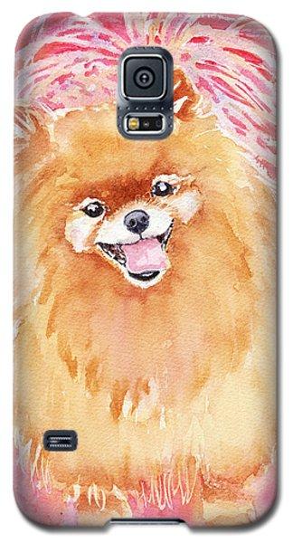Pink Pom Galaxy S5 Case