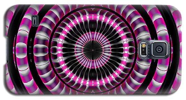 Pink Rings Galaxy S5 Case