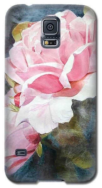 Pink Rose Caroline Galaxy S5 Case