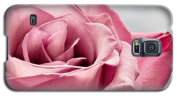 Pink Rose Macro Galaxy S5 Case