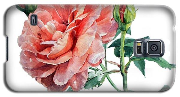 Pink Rose Odette  Galaxy S5 Case