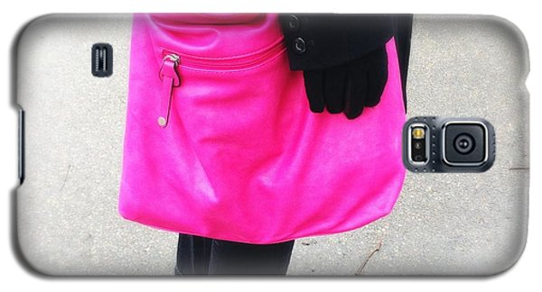 Pink Shoulder Bag Galaxy S5 Case