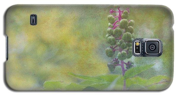 Pink-stemmed Plant Galaxy S5 Case