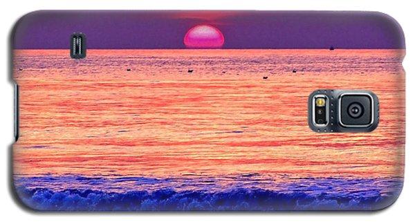Pink Sun Galaxy S5 Case