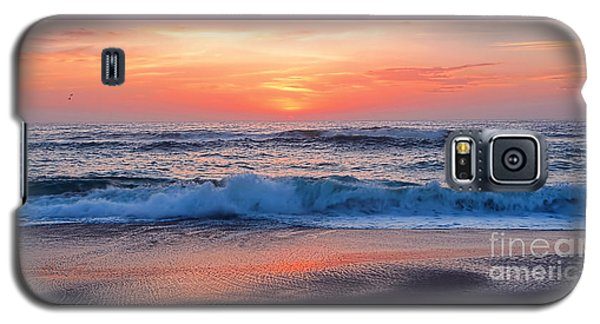 Pink Sunrise Panorama Galaxy S5 Case by Kaye Menner