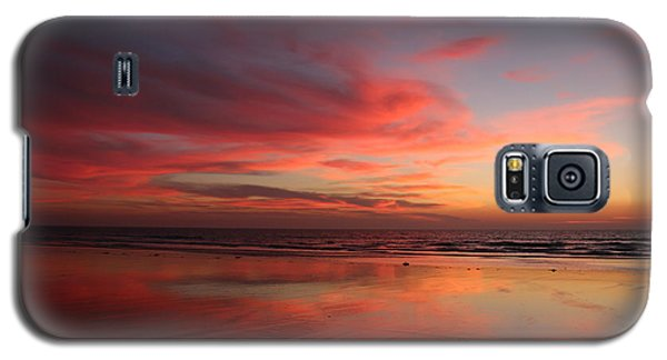 Ocean Sunset Reflected  Galaxy S5 Case
