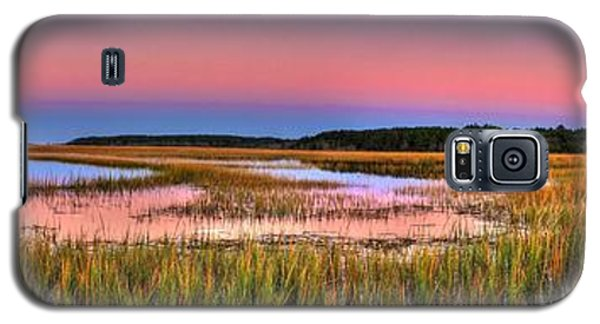 Pink Sunset Galaxy S5 Case by Ed Roberts