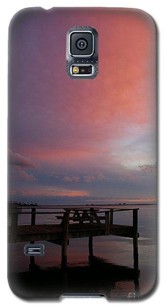Pink Sunset Galaxy S5 Case