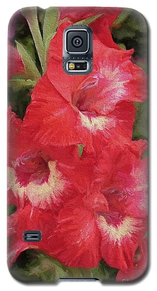 Pink Trumpet Painting In Digital Oil Galaxy S5 Case
