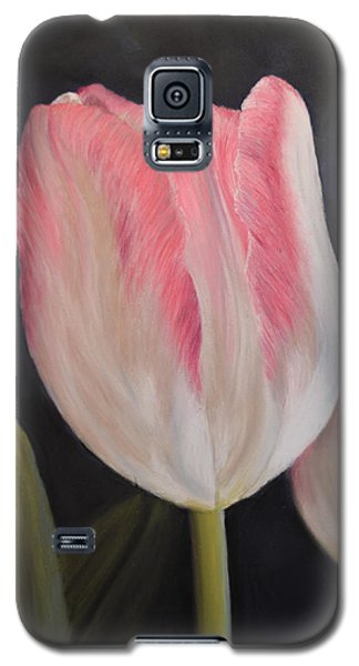Pink Tulip Galaxy S5 Case