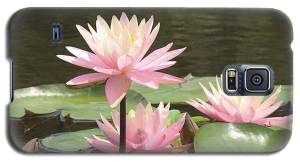Pink Waterlilies Galaxy S5 Case