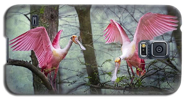 Pink Wings In The Swamp Galaxy S5 Case